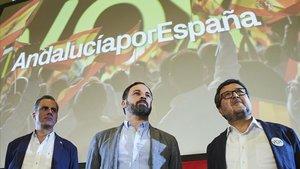 """Vox diu que no vol canviar """"ni una coma"""" de l'acord PP-Cs per a Andalusia"""