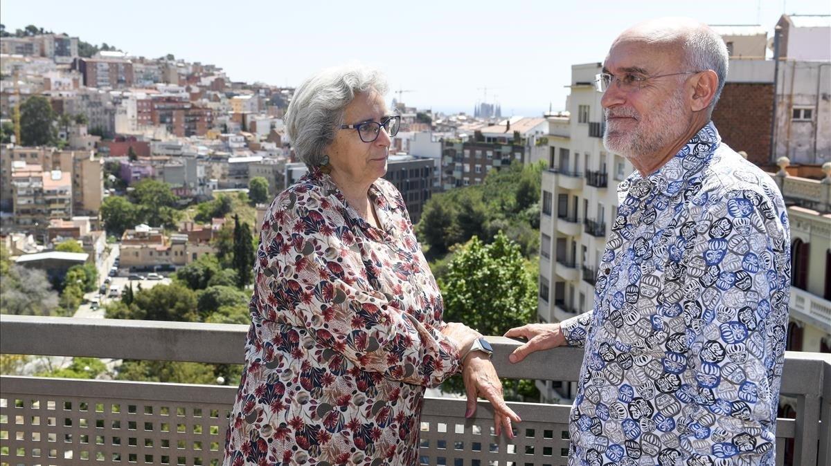 """Imma Barba i Miquel Gascon: """"De vegades veiem teatre dos o tres vegades al dia"""""""