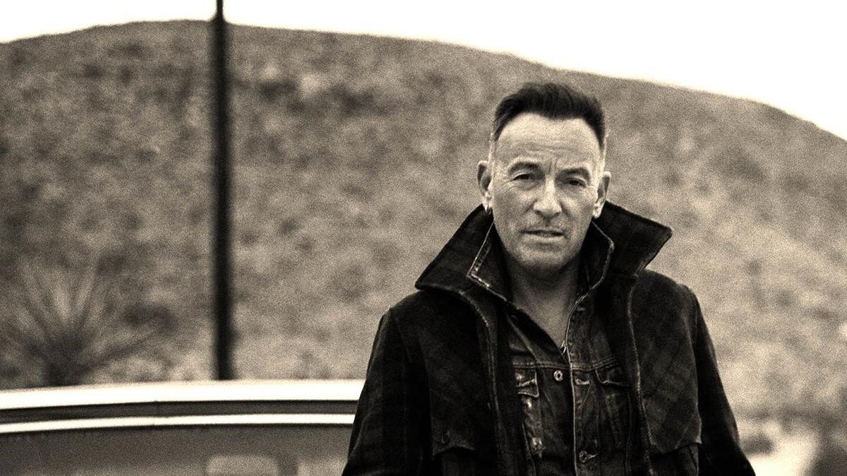 Imagen promocional del nuevo disco de Bruce Springsteen.