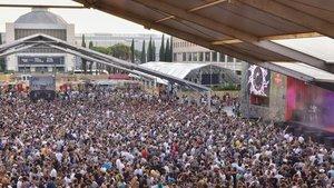 El Sónar tanca l'edició més difícil amb 105.000 espectadors