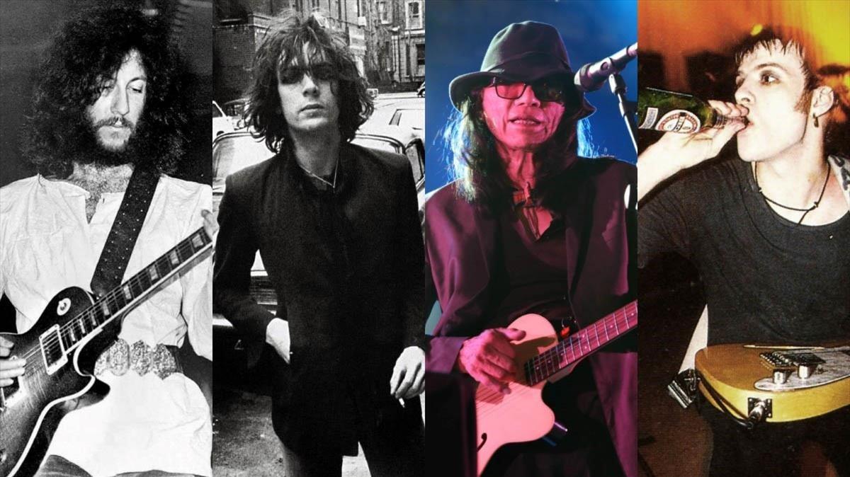 Peter Green, Syd Barrett, Sixto Rodríguez y Richey James Edwards.