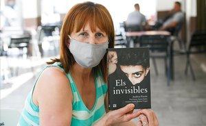 Sifa Ademovic, una de las protagonistas de 'Els Invisibles', enSant Celoni.