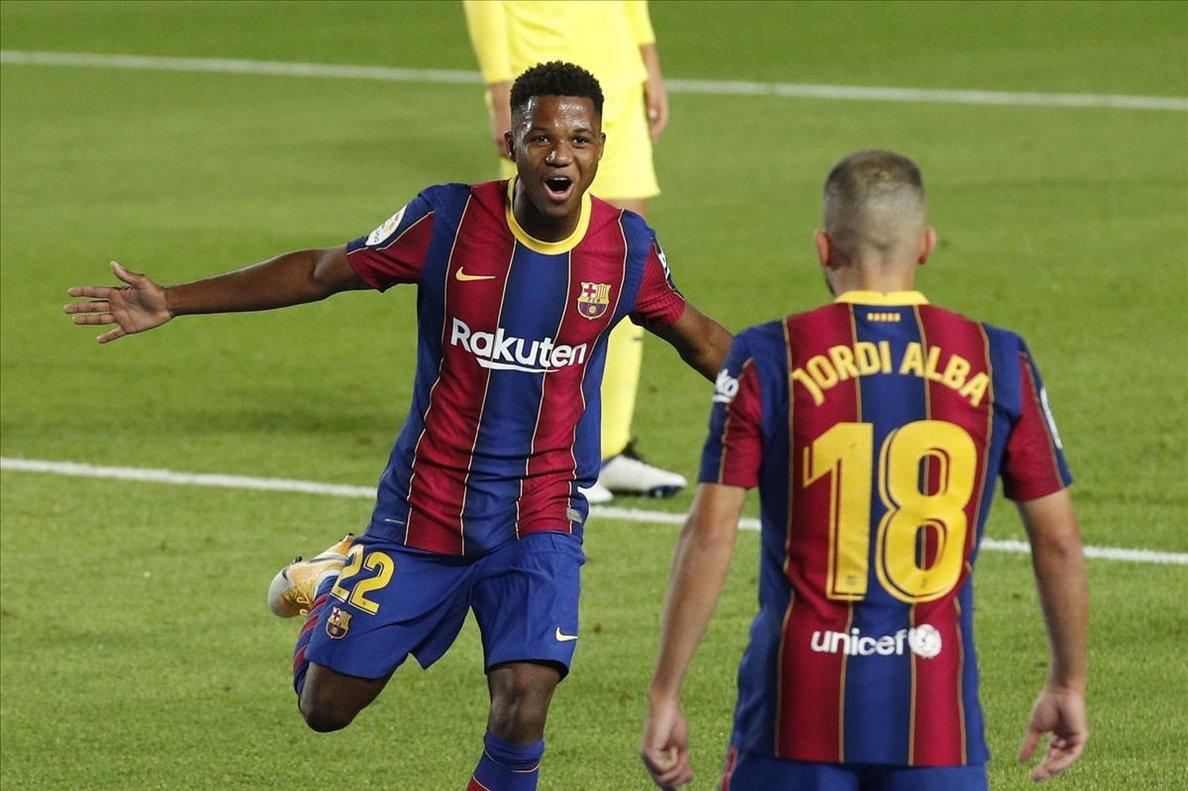 El Barça de Fati goleja el Vila-real