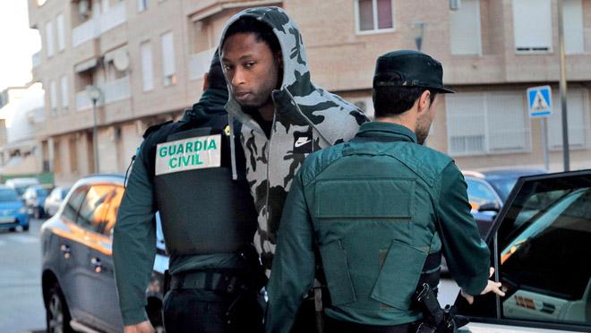 La jutge envia a la presó Rubén Semedo, del Vila-real.