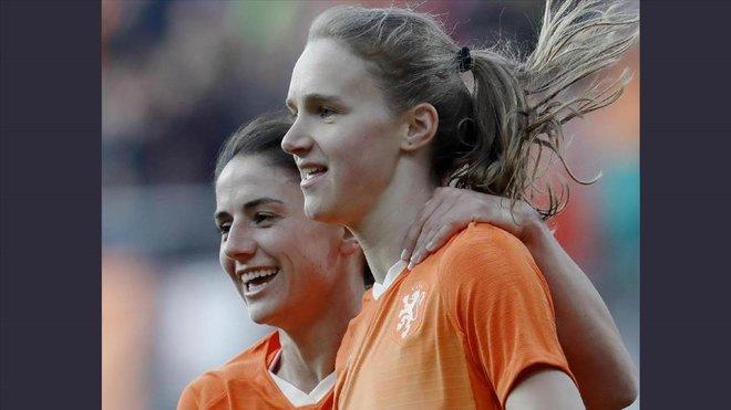 Vivianne Miedema, una de las mejores jugadores de la Copa Mundial femenina 2019