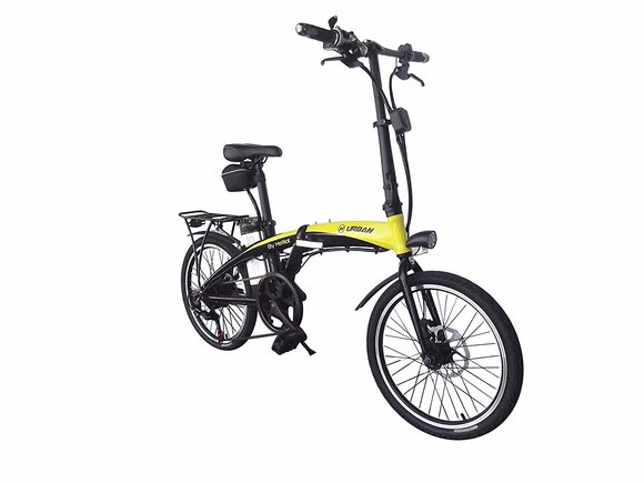 Bicicleta eléctrica plegable de Helliot Bikes