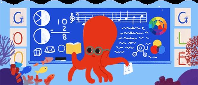 El Día del Maestro, visto por Google