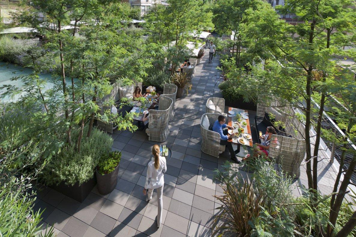 El Jardín Mimosa acoge los conciertos en septiembre.