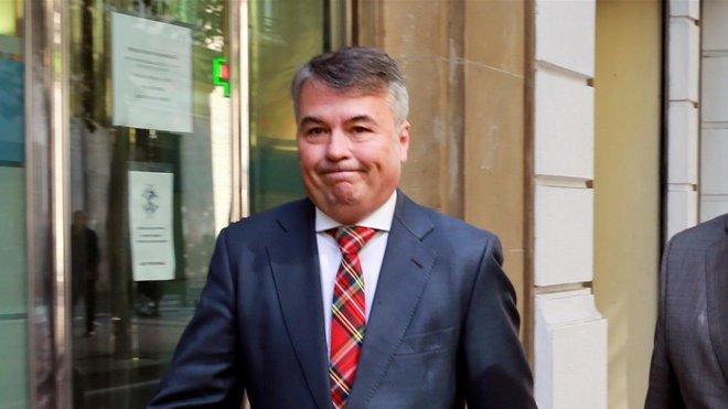 El abogado de cuatro miembros de La manada, Agustín Martínez Becerra.