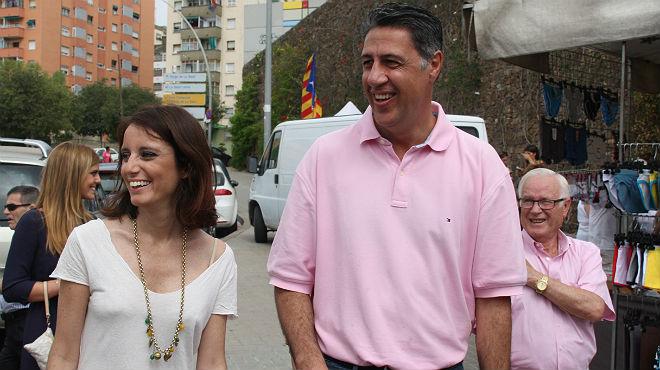 Xavier García Albiol ha visitado este sábado Badalona