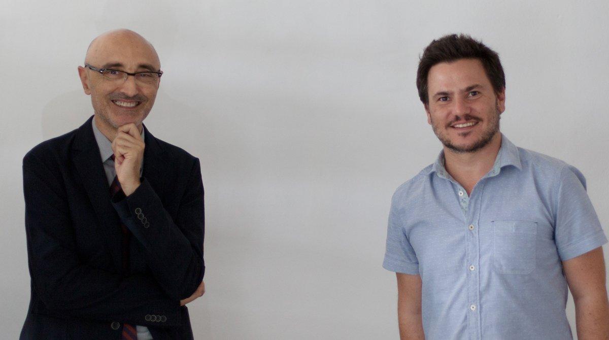 Alfredo Balcameda y Gastón Vilella, responsables de Zicla.