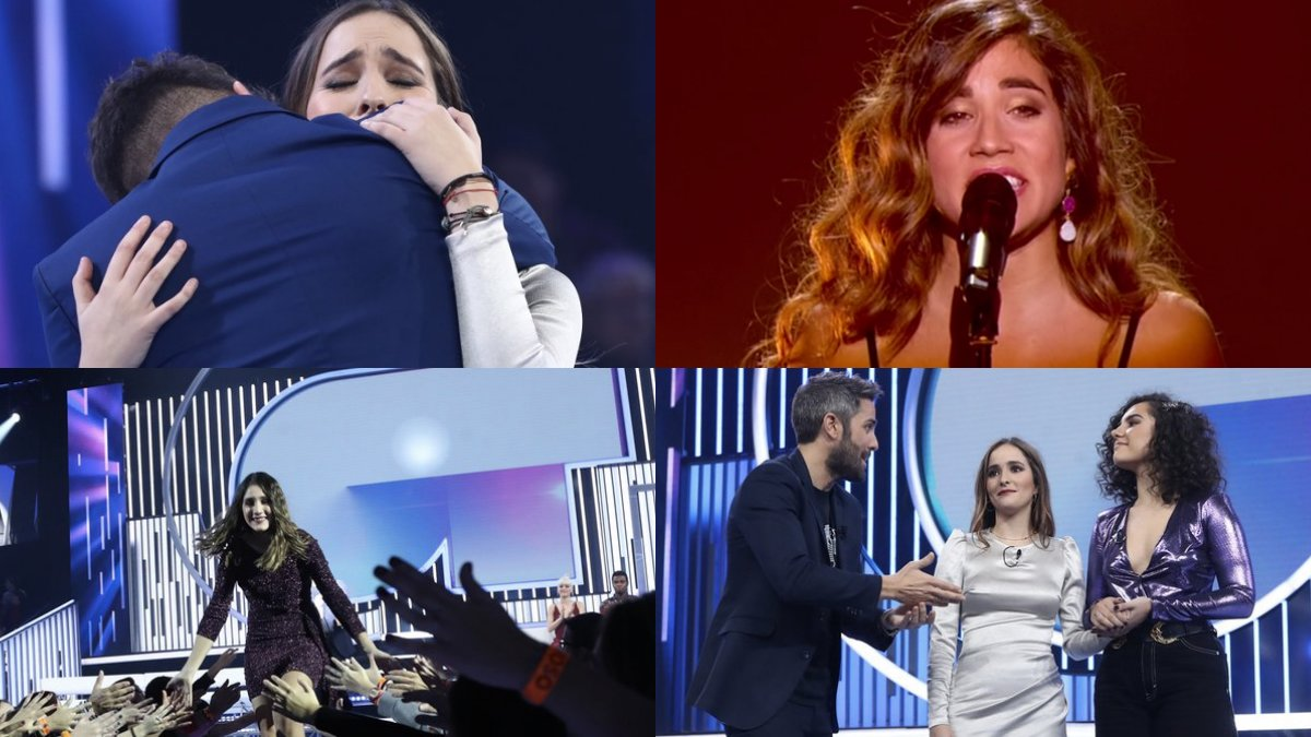 Algunos de los momentazos de la gala 8 de OT 2018.