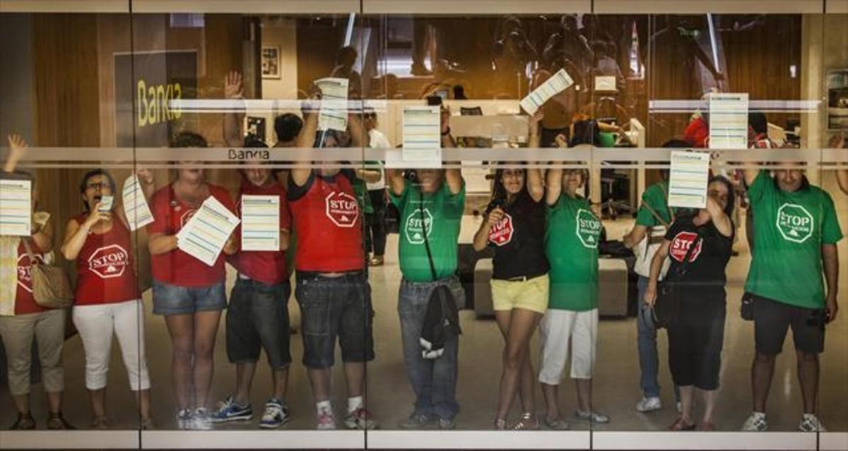 18.474 demandas bloquean los juzgados catalanes para cláusulas abusivas