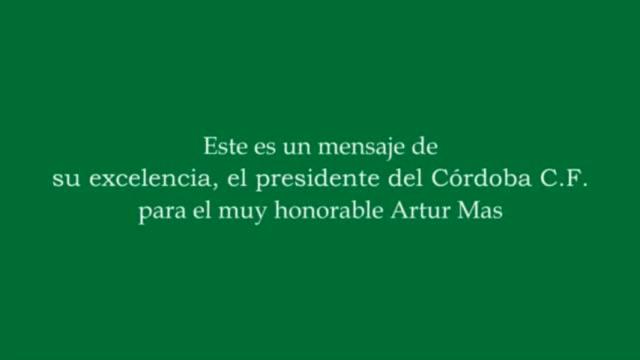 Carta abierta de Risto Mejide al 'president' Artur Mas