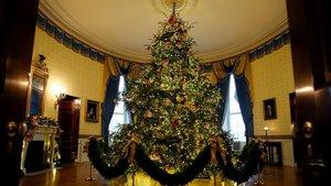 El árbol de Navidad del 2018 de la Casa Blanca.