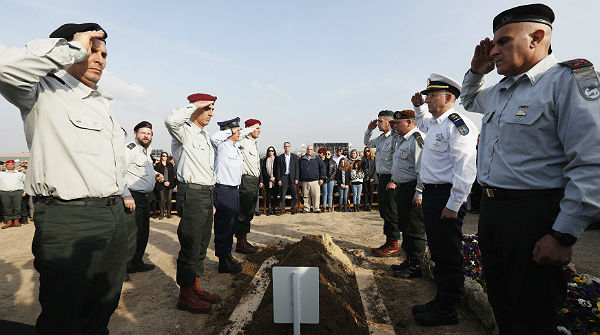 Ariel Sharon, enterrado con honores militares