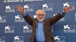 Arturo Ripsten, en el festival de Venecia del 2015, donde presentó La calle de la amargura