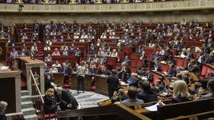 Vista de la Asamblea Nacional francesa