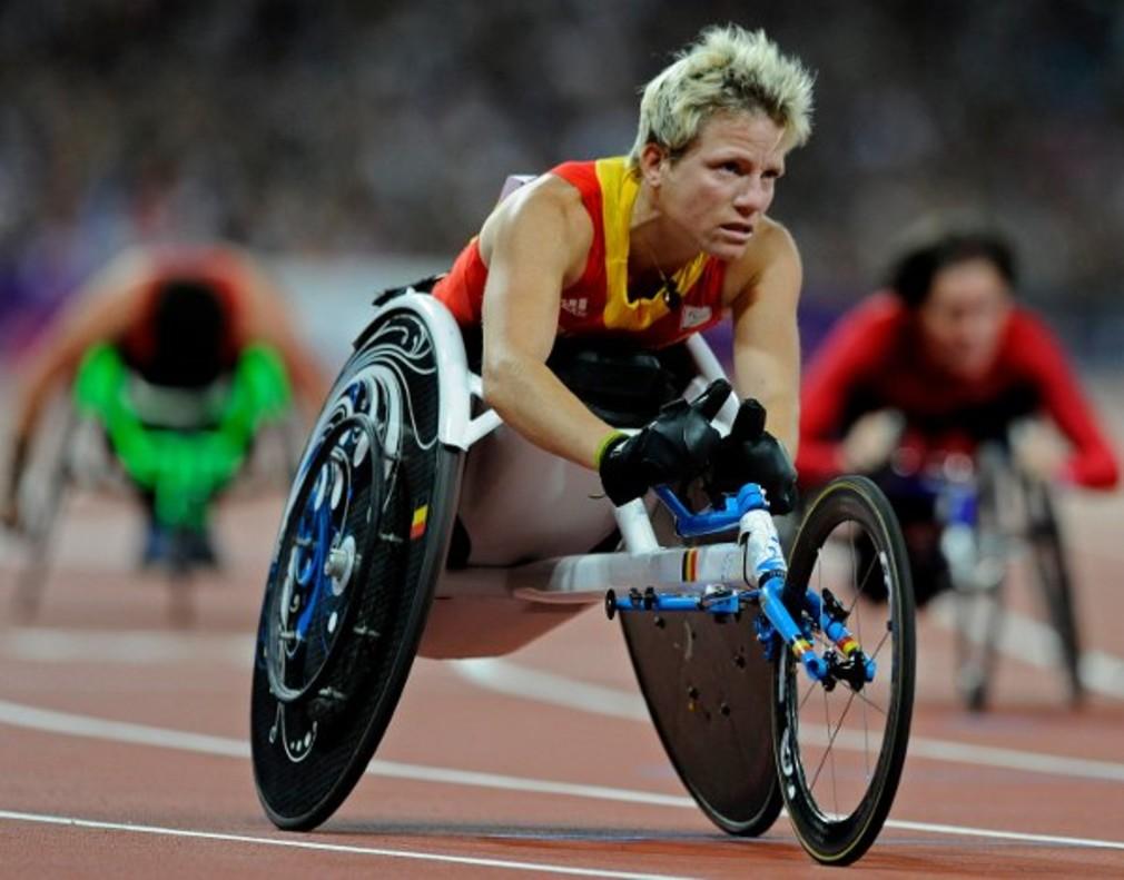 La atleta belga Marieke Vervoort competirá en los Juegos Olímpicos de Río de Janeiro.