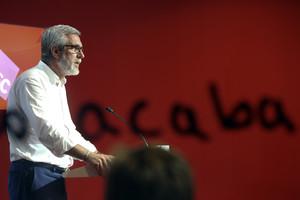José Félix Ballesteros este lunes en rueda de prensa.
