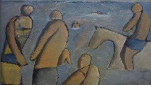 'Bañistas del Cerro' (1958), de José Gurvich.