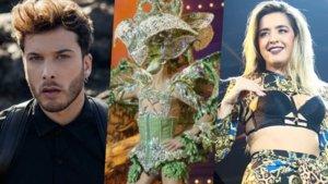 Blas Cantó y Lola Índigo, artista que actuarán en la gala Drag Queen de Las Palmas 2020.