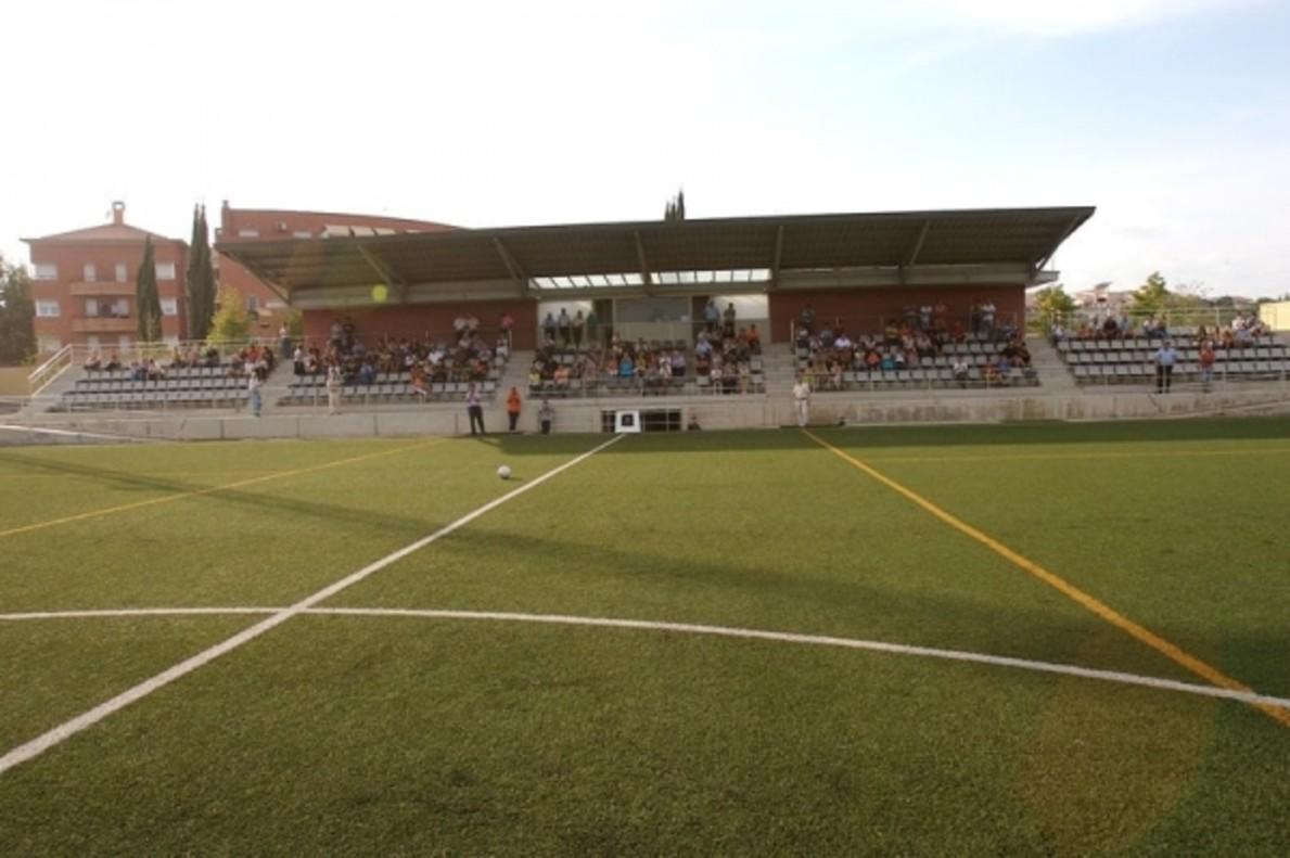 Campo Municipal de Futbol Josep Seguer de Parets del Vallès.
