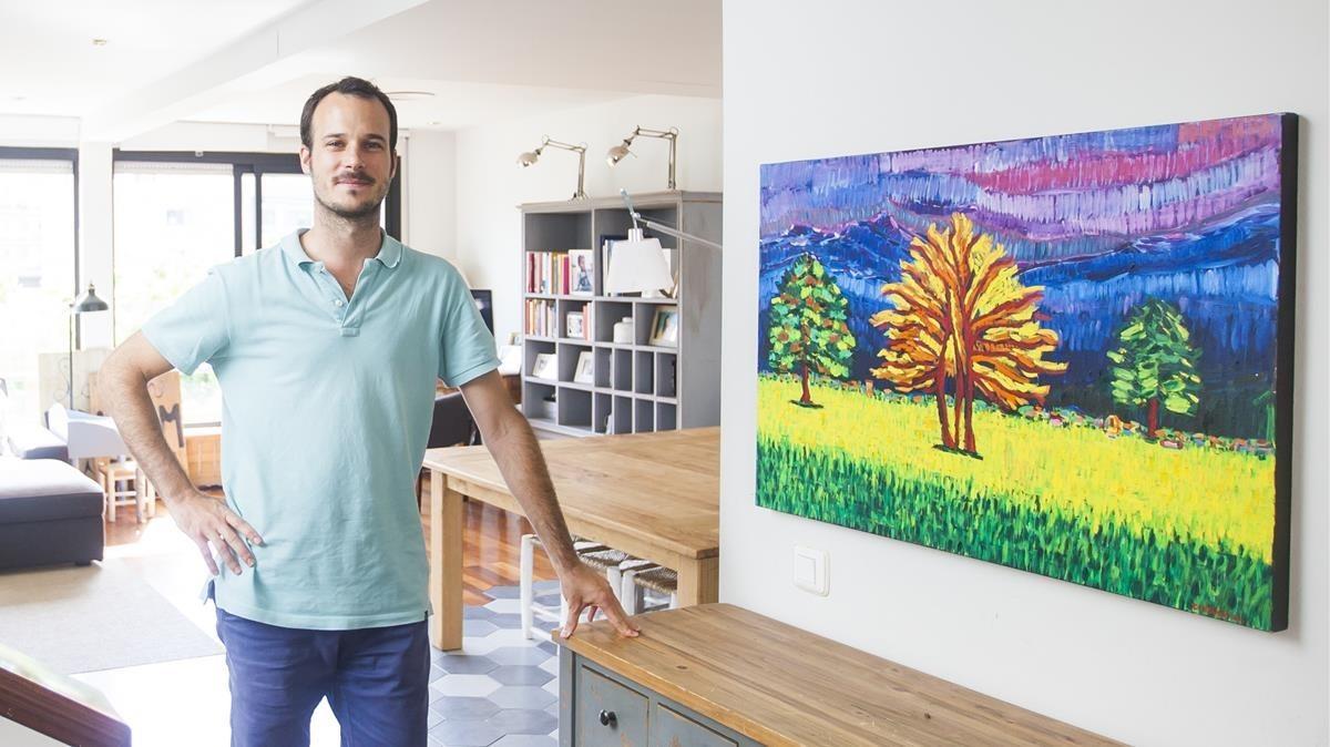 Carles Font, voluntario de Refugees Welcome.