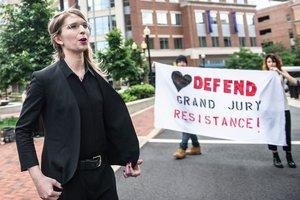 Chelsea Manning, la exanalista de Inteligencia del Ejército de los EEUU.