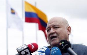 El senador colombiano Julian Gallo, exmiembro de la guerrilla de las FARC.