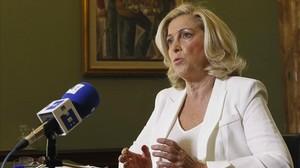 La delegada del Gobierno central en Madrid, Concepción Dancausa.