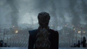 Daenerys, en el último capítulo de Juego de tronos.