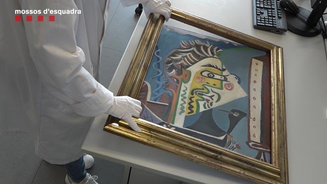 Detenido un hombre que intentó empeñar una falsificación de un cuadro de Picasso.