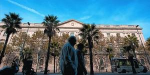 Edificio de la Llotja de Mar, sede de la Cámara de Barcelona.
