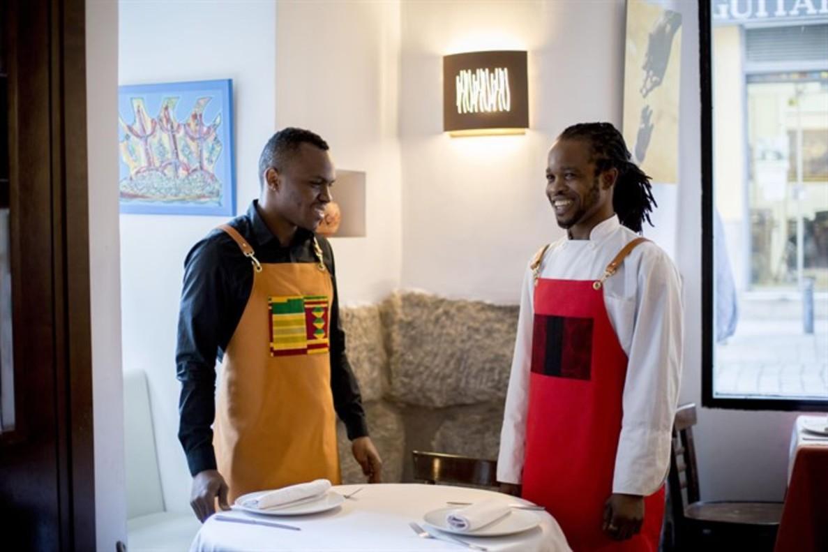 ElMandela, restaurante de comida africana en Madrid.
