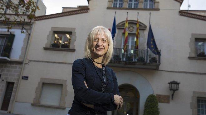 Entrevista a Pilar Díaz, alcaldesa de Esplugues de Llobregat.