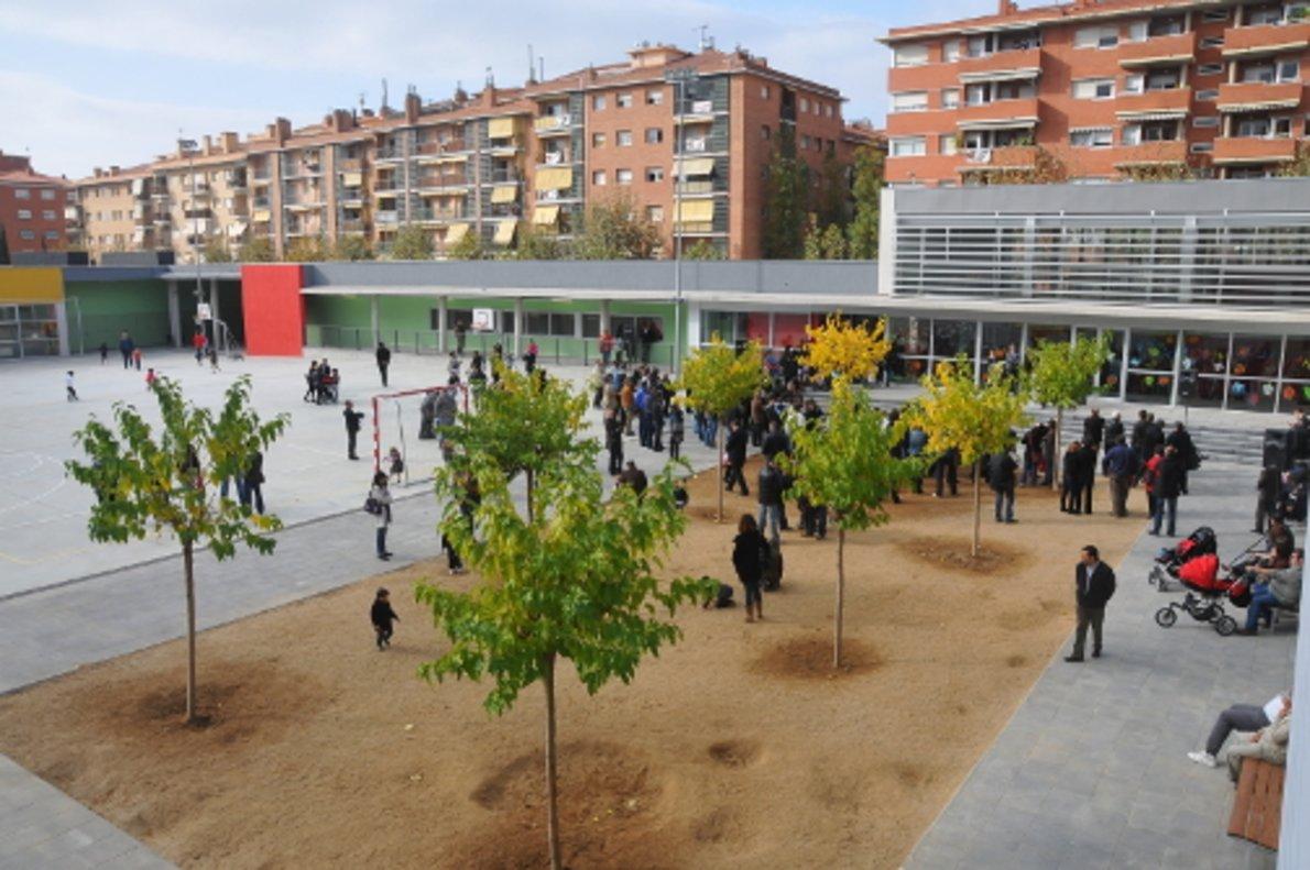 Escuela pública Maria Mercè Marçal de Mataró.