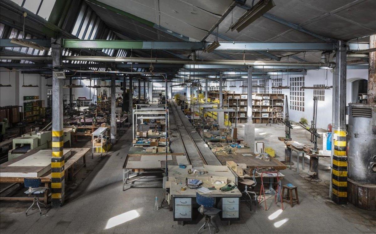 Una fábrica de juguetes de Valencia.