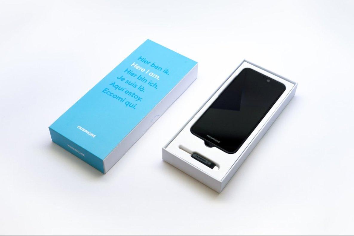 Móvil ecológico Fairphone 3.