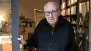 Feliu Formosa, este lunes en la librería La Impossible, donde ha presentado cuatro novedades.