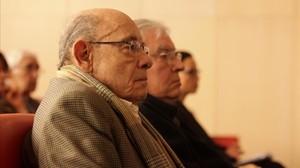 Fèlix Millet y Jordi Montull, en el juicio del caso Palau, el 1 de marzo del 2017.