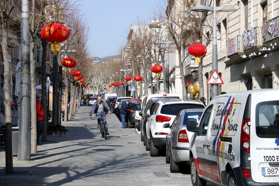 Mataró permet el pas de vehicles a la riera el primer dia que pensava vetar-los