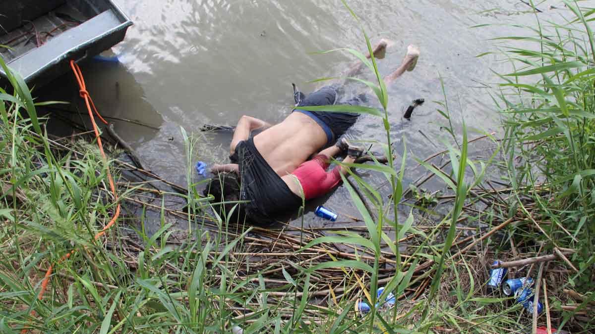 El fotógrafo Abraham Pineda-Jácome, autor de la imagen del padre y la hija ahogados, explica cómo tomó la foto y su significado.