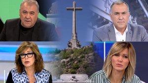 Així serà la cobertura televisiva de l'exhumació de Franco