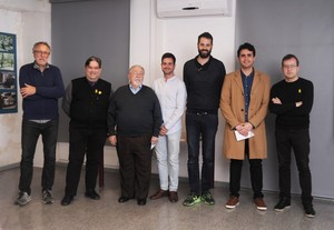 """Ganadores del I Concurso Gavà a vista de dron""""."""