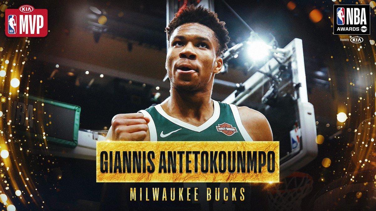 Antetokounmpo, MVP de l'any a l'NBA