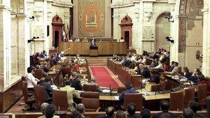Hemiciclo del Parlamento de Andalucía
