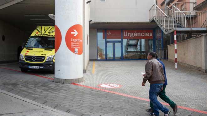 L'Hospital de Palamós assegura que la dona que va esperar-se 7 hores no s'hauria salvat
