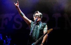 Imagen del concierto de The Offspring en Barcelona.