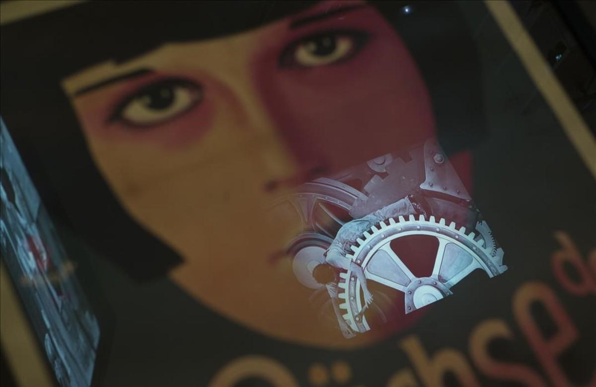 Imagen de la exposición Arte y cine. 120 años de intercambios, en CaixaForum.